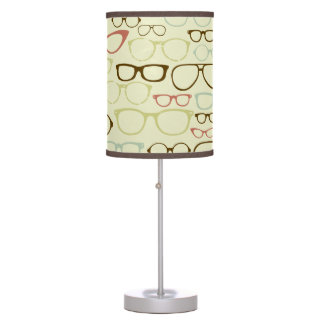 Retro Eyeglass Hipster Table Lamp