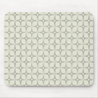 Retro Fab Mousepad, Ivory Mouse Pad