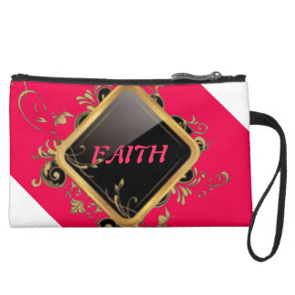 Retro Faith Clutch