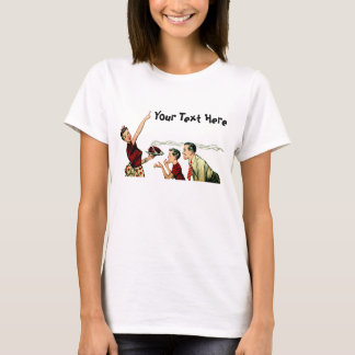 Retro Family Meal Time T-Shirt