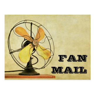 Retro Fan Mail Post Card