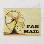 """Retro Fan Mail Post Card<br><div class=""""desc"""">A versatile retro-look """"Fan Mail"""" post card to make your friends and family smile. There are so many uses for this humorous sentiment: say thanks, brighten up someone's day, send words of encouragement, let someone know how much they mean to you, get well/speedy recovery wishes, send to a celebrity, and...</div>"""