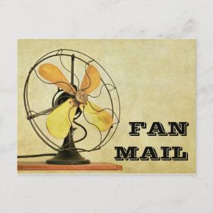 Retro Fan Mail Post Card