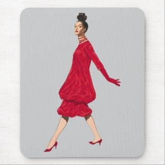 Retro Fashion Mousepad