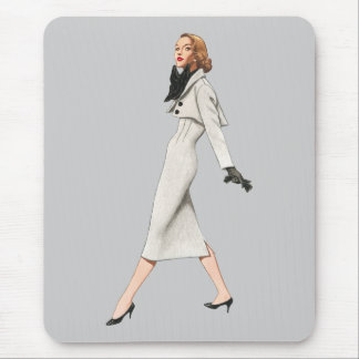 Retro Fashion Mousepad
