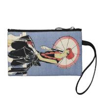 Retro Fashions Vintage Art Deco Lady Bagettes Change Purse