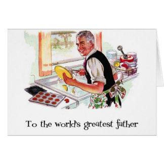 Retro Fathers Day Card
