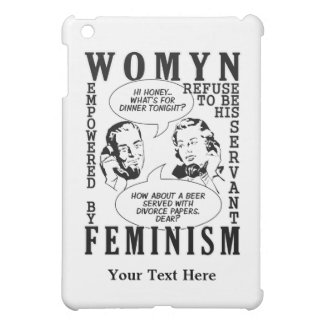 Retro Feminist Humor phone cases iPad Mini Cover