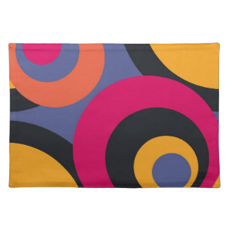Retro Fifties Abstract Art Cloth Placemat