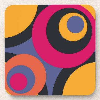 Retro Fifties Abstract Art Coasters