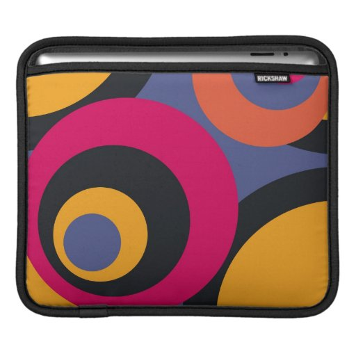 Retro Fifties Abstract Art Sleeves For iPads