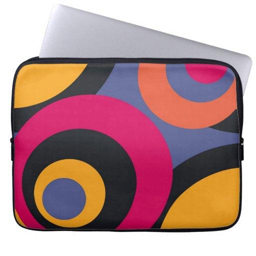 Retro Fifties Abstract Art Computer Sleeve