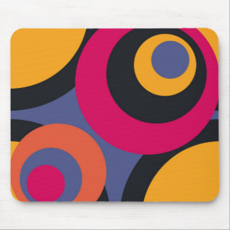 Retro Fifties Abstract Art Mouse Pad