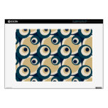 Retro Fifties Abstract Art Skin For Laptop Laptop Skin