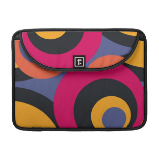 Retro Fifties Abstract Art Sleeve For MacBook Pro