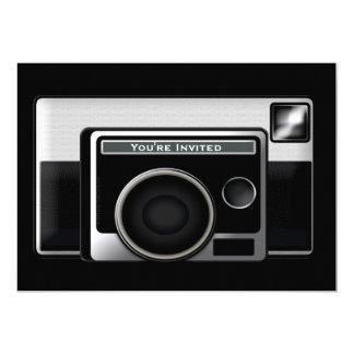 Retro Film Camera Card