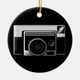 Retro Film Camera Christmas Ornament