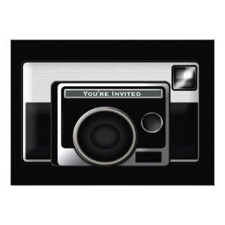 Retro Film Camera Custom Invitations