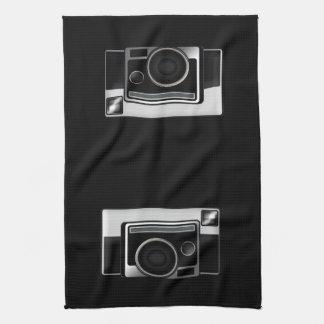 Retro Film Camera Kitchen Towel