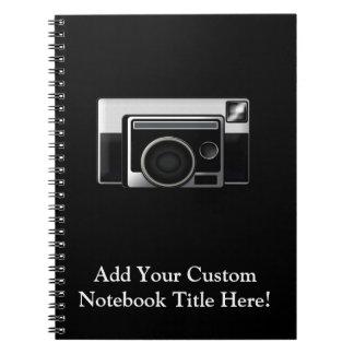 Retro Film Camera Notebook