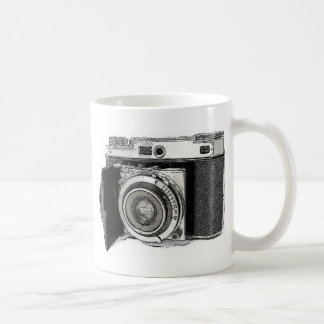 Retro Film Camera Photography Drawing Sketch Coffee Mug