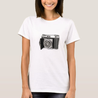 Retro Film Camera Photography Drawing Sketch T-Shirt