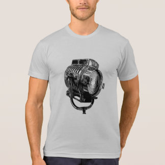 Retro Film Lamp Poly-Cotton Blend T-Shirt