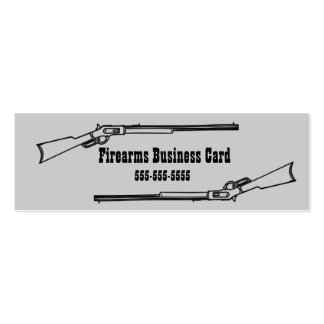 Retro Firearms Business Card