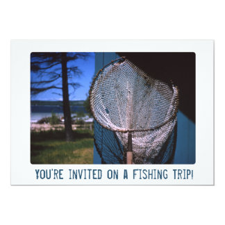 Retro Fishing Net Card