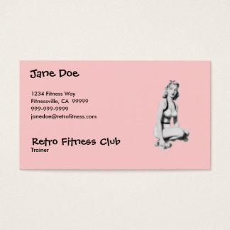 Retro Fitness Business Card
