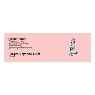 Retro Fitness Mini Business Card