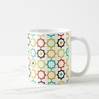 Retro Five Point Star Design Coffee Mug