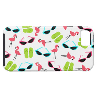 Retro Flamingo iPhone 5 Case