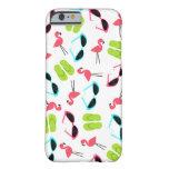 Retro Flamingo Pattern iPhone 6 case