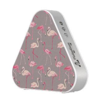 Retro Flamingos Bluetooth Speaker