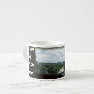 Retro Flin Flon Canada Espresso Mug
