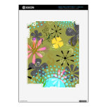 Retro Floral 1 iPad 3 Skin