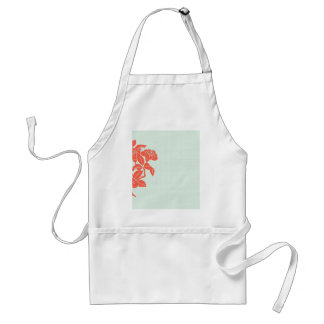 Retro Floral Adult Apron