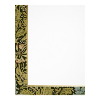 Retro Floral - Customized Stationery 2
