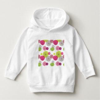 retro,floral,flower,70's,pattern,girly,fun,happy,c hoodie