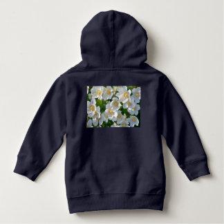 retro, floral, flowers, decorative, ornamental, ar hoodie