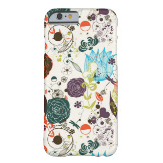 Retro Floral Pattern 2 Barely There iPhone 6 Case