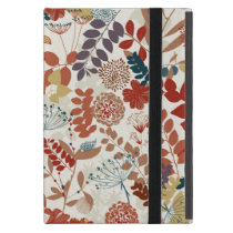 Retro floral pattern iPad mini covers