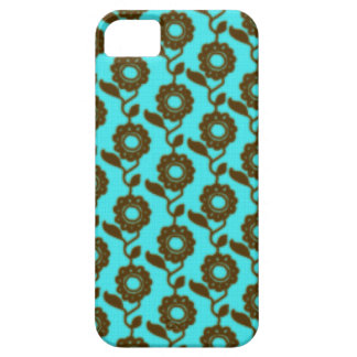 Retro floral pattern - mosaic iPhone 5 cover