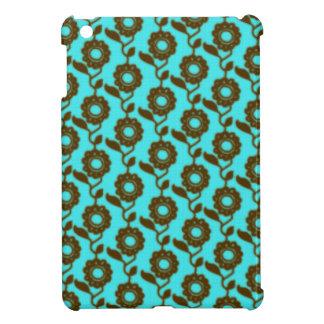 Retro floral pattern - mosaic iPad mini case