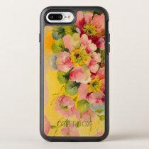 Retro Floral Pattern OtterBox Symmetry iPhone 7 Plus Case