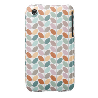 Retro Floral Patterned Case iPhone 3 Cover