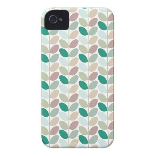 Retro Floral Patterned Case Case-Mate iPhone 4 Cases