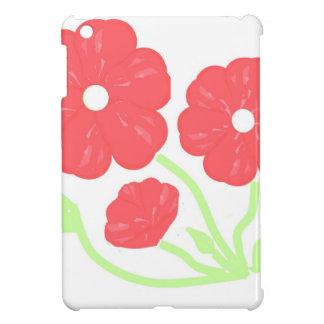 Retro Floral Pink iPad Mini Covers