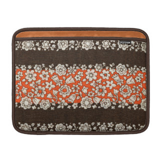 Retro Floral Stylish Hippie Flower Abstract Girly Sleeve For MacBook Air